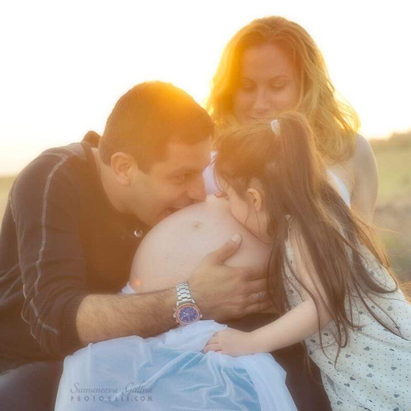 Maternity photographer in Ramat Gan