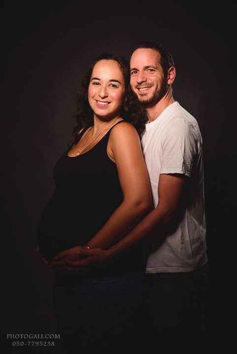 Фото сессия беременности в студии