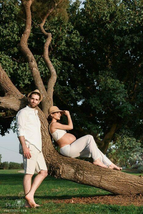 צילומי הריון בחוץ