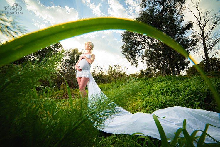 רעיונות לצילומי הריון מיוחדים