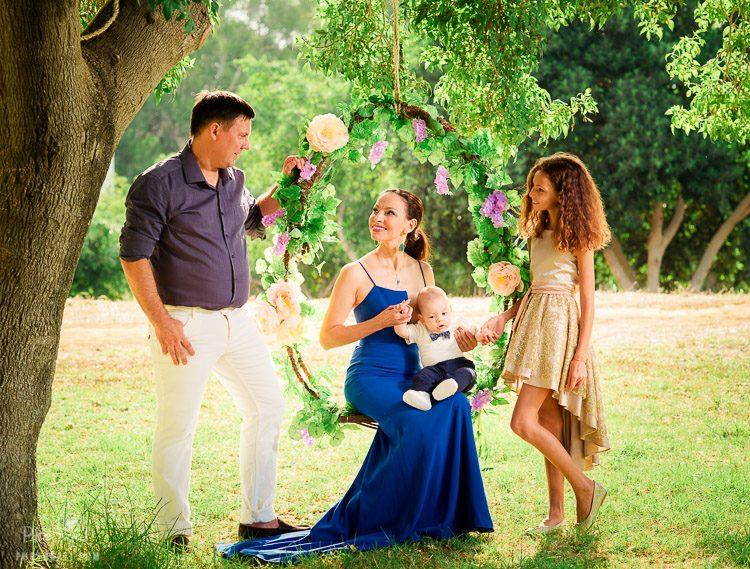 צילומי משפחה במרכז - Photogali