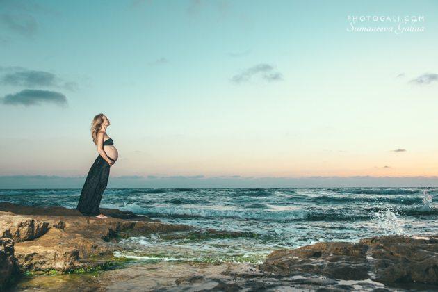 фотосессия беременности в израиле