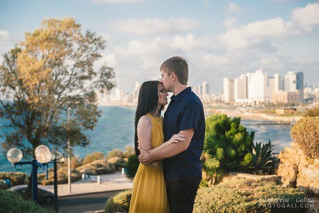צילומי זוגיות בתל אביב