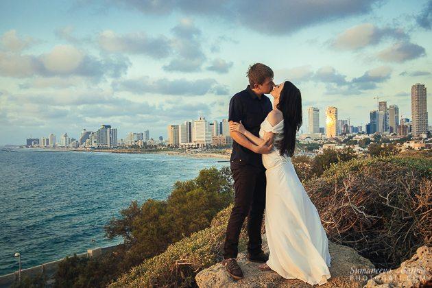 צילומי זוג בתל אביב
