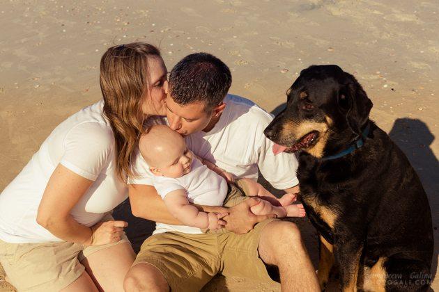 צילומי משפחות בחוף ים
