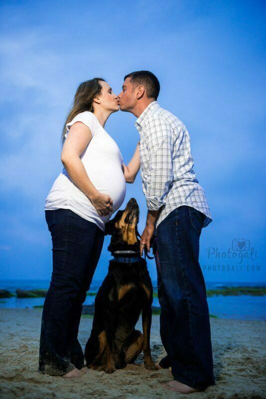 צילומי הריון זוגיים