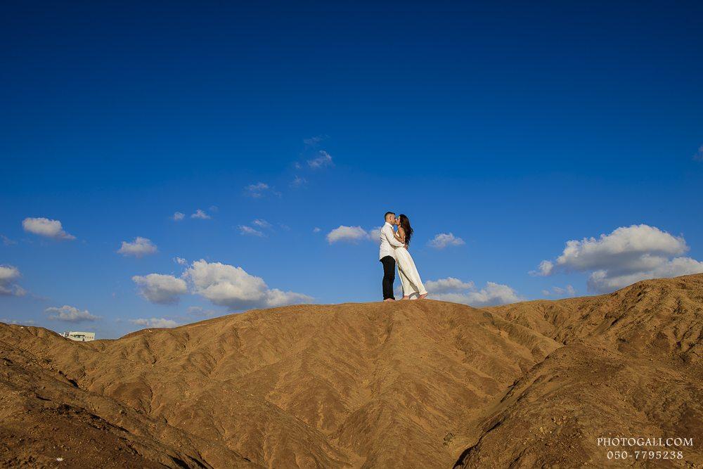 Сессия Лав Стори на пляже в Израиле