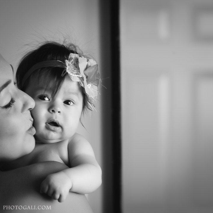 Фотосессия ребенка дома