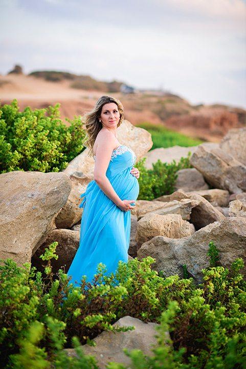 שמלה לצילומי הריון