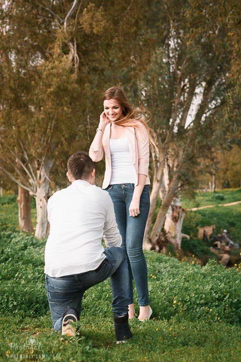 צילום הצעת נישואים