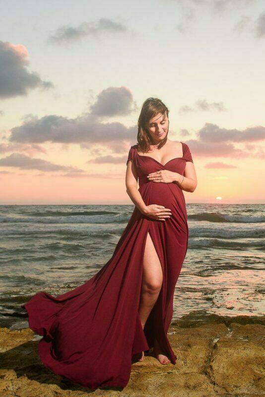 שמלה לבוק הריון