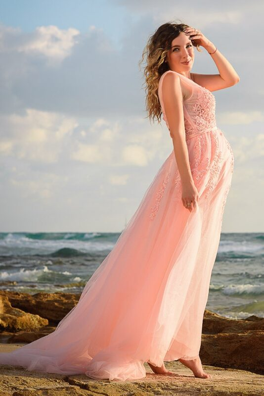 שמלה לצילומים
