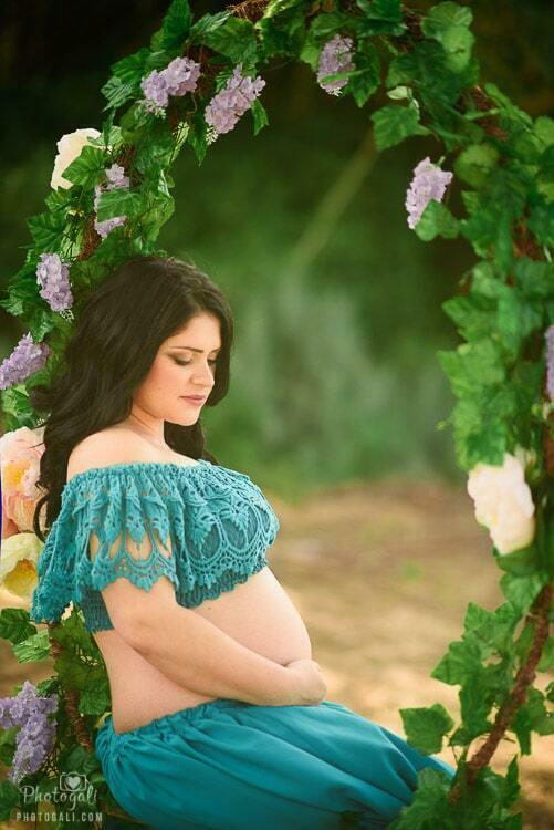 צילומי הריון בטבע מרגשים