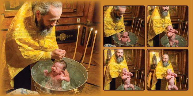 Фотограф на крещение в Иерусалиме в Израиле