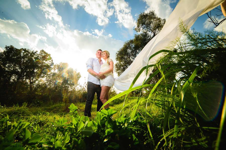 фотосессия беременности с мужем на природе
