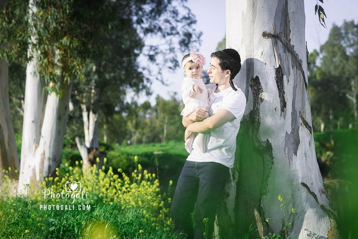 צילומי משפחות בטבע