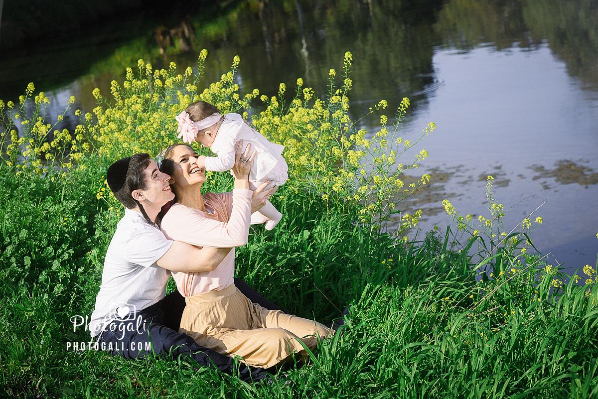 צלמת ילדים בטבע