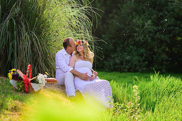 Maternity photographer in Ramat Gan