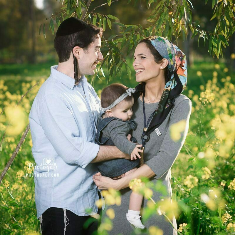 צלם משפחה בטבע