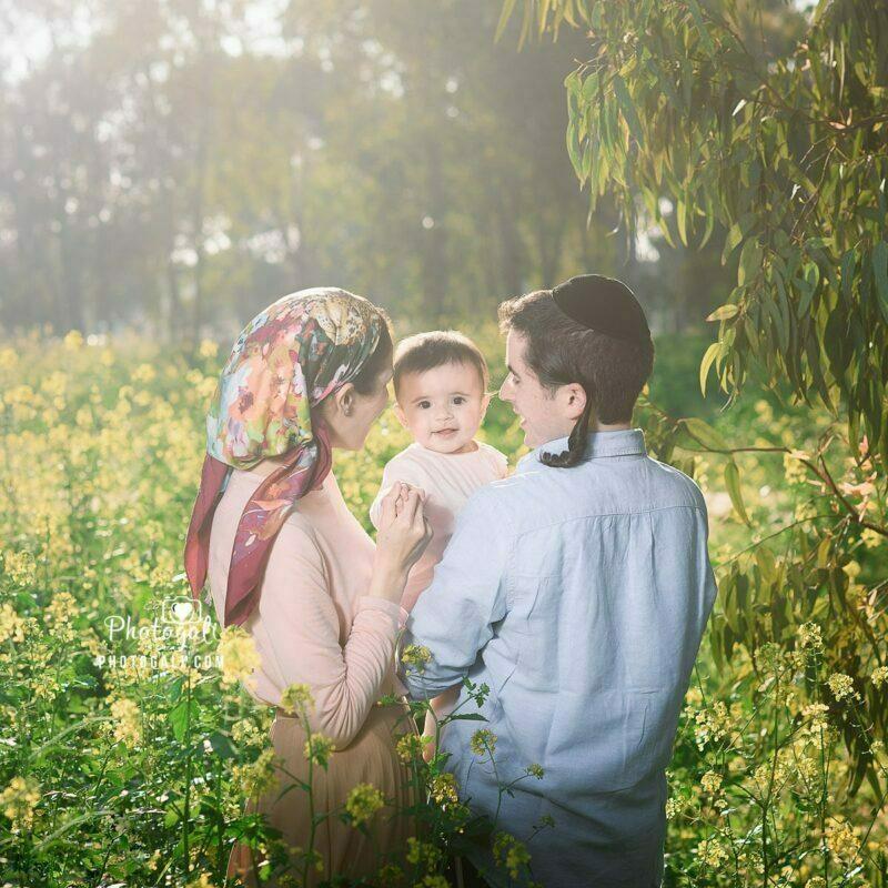 צילומי משפחה בחיק הטבע