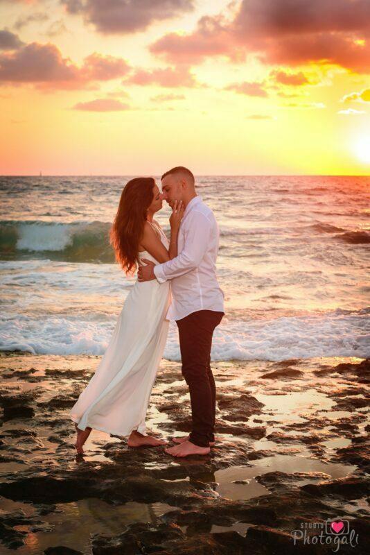 רעיון לצילומי טרום חתונה