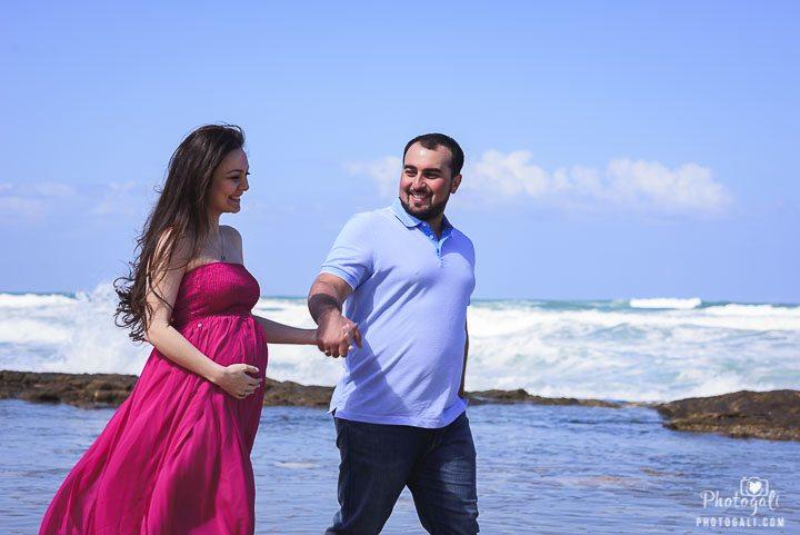 фотосессии беременности на открытом воздухе