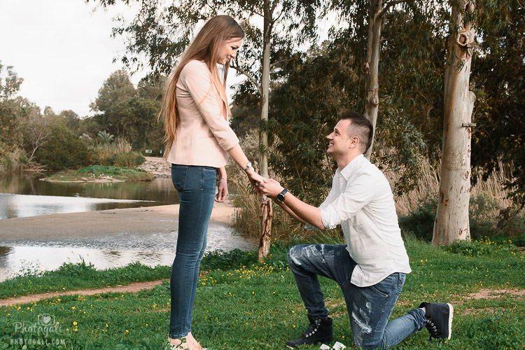 צלם להצעת נישואין